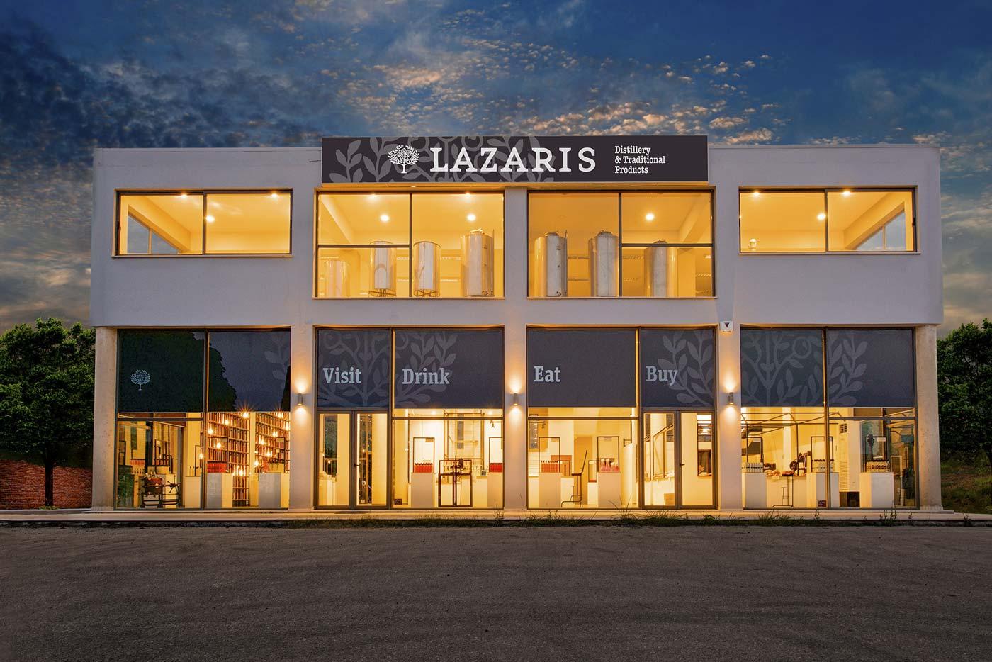 Lazaris private tour tasting corfu ekthesi
