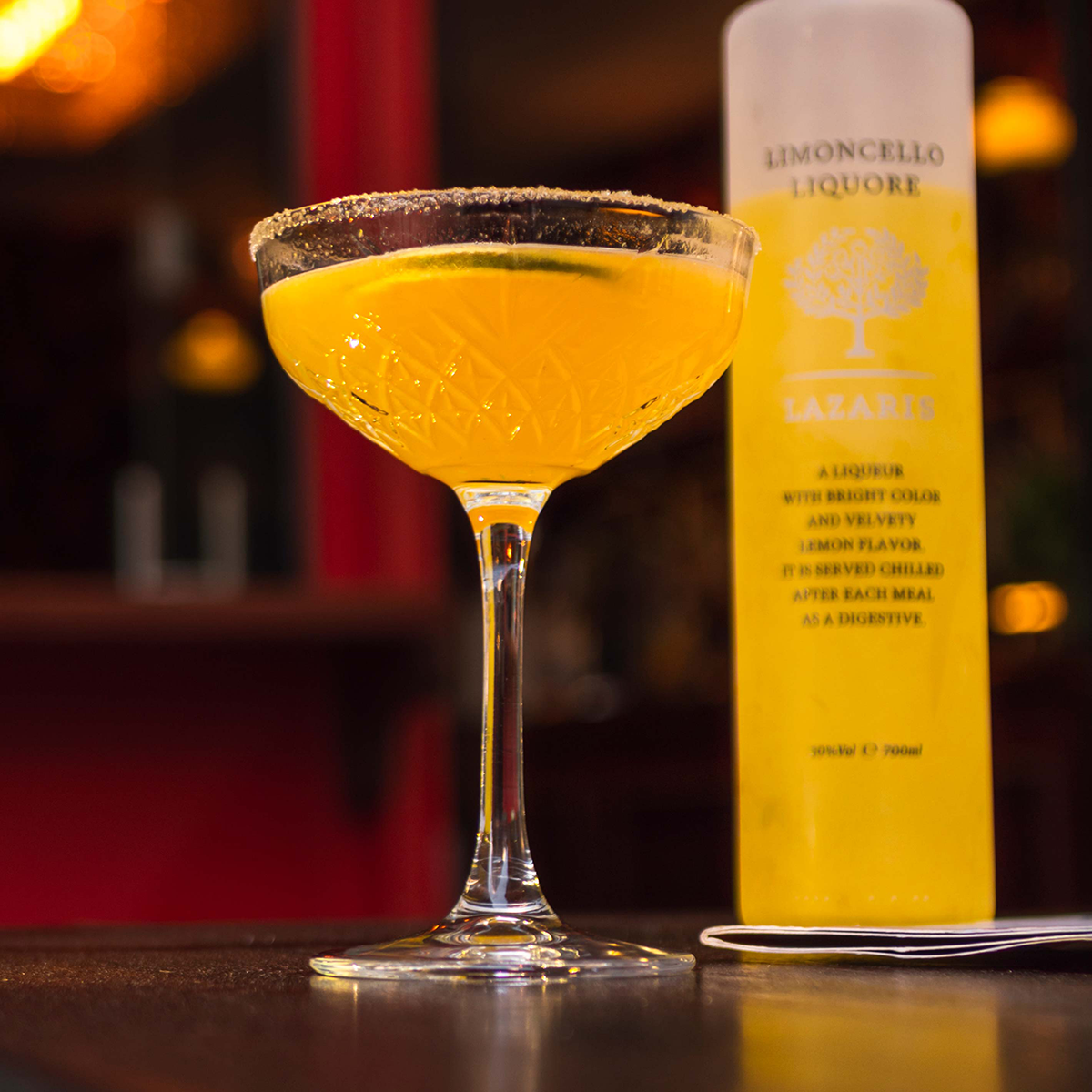 Limoncello Cocktail 1200